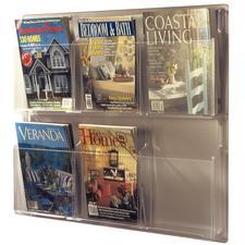 Clear Plastic Literature Display Racks