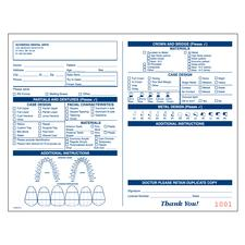2-Part Laboratory Prescription Forms