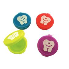 "Large Neon Tooth Savers, Assorted Colors, 1/2"" H x 1-1/2"" D, 36/Pkg"