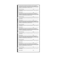 ADA-Approved and CMS Insurance Signature Release Labels, White