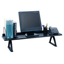 "Desk Riser, 30"" W x 8-1/4"" H x 12-1/4"" D, Black"