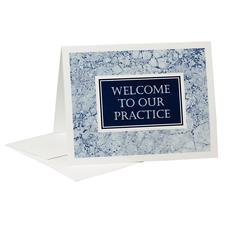 "Welcome Card with Envelope, 5-1/2"" W x 4-1/4"" H, 50/Pkg"