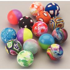 "Mixed Superballs, Assorted, 1-1/4"", 48/Pkg"