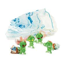 "Space Alien Parachuters, Assorted, 1"" W x 1-1/2"" H, 48/Pkg"