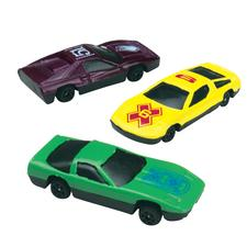"Motor Force Car Assortment, Assorted, 3-1/2"", 25/Pkg"