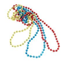 "Mardi Gras Necklaces, Assorted Colors, 16"", 36/Pkg"