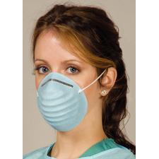 Defend® Premium Molded Cone Face Mask, 50/Box