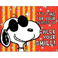 Peanuts 4-Up Laser Postcards, 100/Pkg
