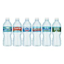 Bottled Spring Water, .5 Liter, 24/Carton