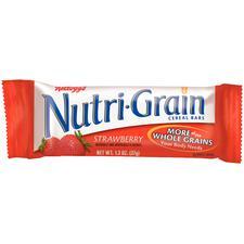 Nutrigrain Cereal Bars, 1.3 oz, 16/Bx