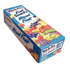 Welch's Mixed Fruit Snacks, 2.25 oz, 12/Bx