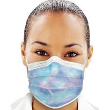 Isofluid® Plus Earloop Face Masks – ASTM Level 1, 50/Box