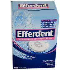 Efferdent® Anti-Bacterial Denture Cleanser