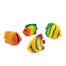 "Tropical Fish Squirts, Assorted, 2"", 12/Pkg"