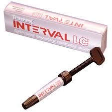 Interval® LC Temporary Restoration Material, 4.5 g Syringe