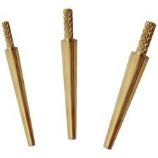 Size 2 Medium Brass Dowel Pins – 1000/Pkg