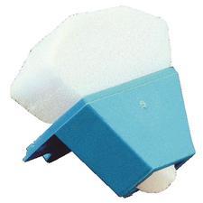 Endo Foam Inserts – White, Disposable, Triangle Shaped, 48/Pkg