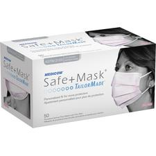 Safe+Mask® TailorMade Earloop Masks, 50/Pkg