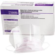 Earloop Face Masks – Anti-fluid, Anti-fog with Shield, 25/Box