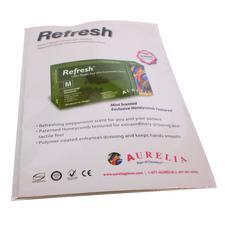 Aurelia® Latex Glove – Powder free, Mint, Sample