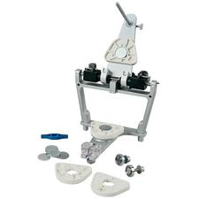 QuickMount Magnetic System™ – Articulator Plates, White with Metal Disks, 20/Pkg
