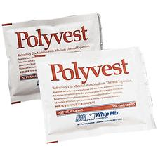 Polyvest Refractory Investment, 24/60 g Preweighed Packets