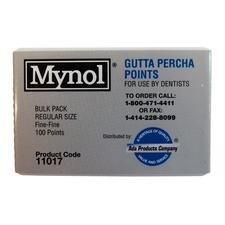 Mynol® Gutta Percha Points – Bulk Pack, 100/Pkg