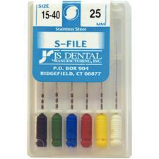 S-Files – 25 mm, 6/Pkg