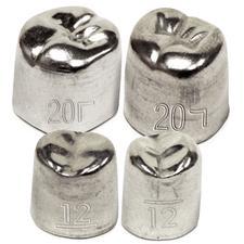 Aluminum Crowns, 5/Pkg