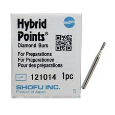 Hybrid Points® Diamond Burs – Medium, White, 1/Pkg