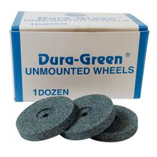 Duragreen Unmounted Finishing Wheel 12/Box