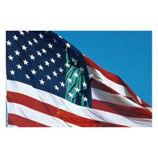 Patriotic 4-Up Laser Postcards, 100/Pkg