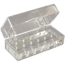 Clear Plexiglass Bur Blocks
