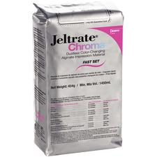 Jeltrate® Chroma Dustless Color-Changing Alginate Impression Material – Fast Set, 454 g Pouches, 1/Pkg