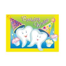 "Happy Birthday Assortment Pack Personalized Postcard, 6"" W x 4-1/4"" H, 1000/Pkg"