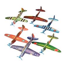 "WWII Glider Assortment,8-1/4"" W x 1-1/2"" H x 7"" D, 48/Pkg"