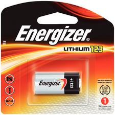 Energizer E2 Photo Lithium Battery, 3V - 123, 1/Pkg