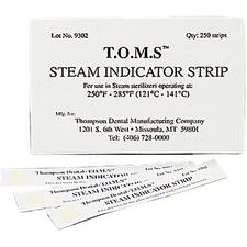 Steam Indicator Strips, 250/Pkg
