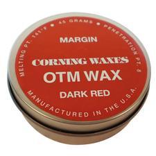 Margin Wax, Dark Red, 45 g Tin