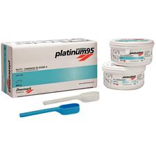 Platinum Zetalabor 95 High Precision Laboratory A-Silicone Putty Material – 450 g, 2/Pkg