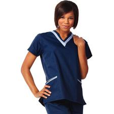 Fashion Seal Healthcare® Ladies' Double V-Neck Tunics
