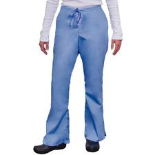 Fashion Seal Healthcare® Ladies' Drawstring Flare Pants, Regular Sizing