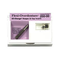 Embouts de capsules et maintien Flexi-Overdenture® EZ-Change®, trousse de lancement