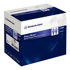 KC500 Purple Nitrile Gloves – Sterile, 50 Pair/Pkg