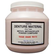 Teets Denture Material – Pour Type, Powder