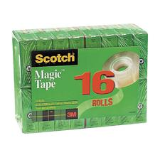 "Scotch Magic Tape Value Packs, 3/4"" x 1,000"""