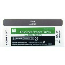 Hygenic® White Paper Points – Auxiliary ADA Sized, Drawer Box, 200/Pkg