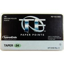 TF™ Paper Points, 100/Pkg