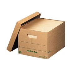 "Recycled Storage Files With Fastfold, 12"" W x 15"" D x 10"" H, 12/Ctn"