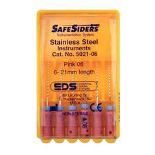 Alésoirs endodontiques Safesider® - 21 mm, 6/emballage